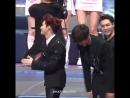 02.12.2016 MAMA 2016:: Suho & Chanyeol teach Baek how to handle a woman