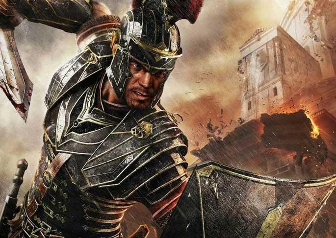 Удар римского легионера