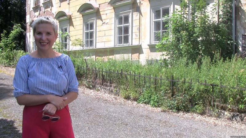 Натальля Маковік прадае гістарычную нерухомасьць у Чэхіі