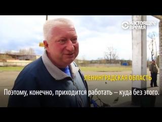 Россияне о пенсии Если бы не дети, с голоду бы подохла [16_05_2017]