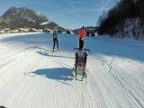 Лыжные выходные или как я пытался догнать одного парня с прицепом