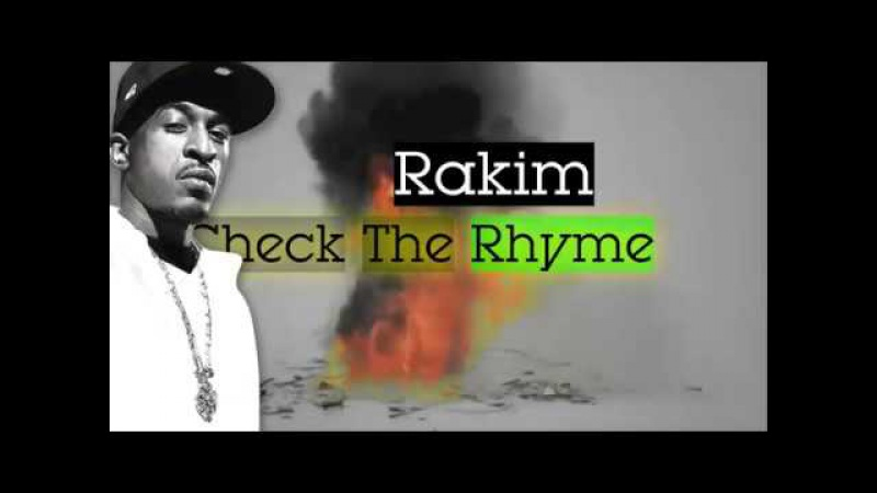 Rakim - Lyrics of Fury (1988) | Check The Rhyme