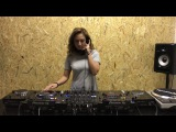 DJ Irina Wiggle пилит в DJostik School mix Tiesto &amp Sevenn and Abel Ramos &amp Albert Neve