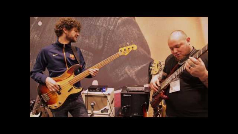 NAMM 2017: Michael League Wes Stephenson Live At The Dunlop Booth