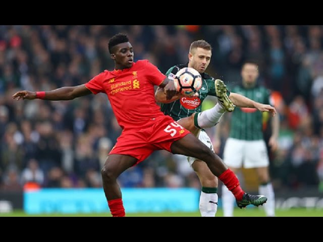 Sheyi Ojo vs Plymouth (A) 16/17