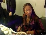 Naomi Campbell en House Of Style  1992  Milan fashionshows  Casting and shows