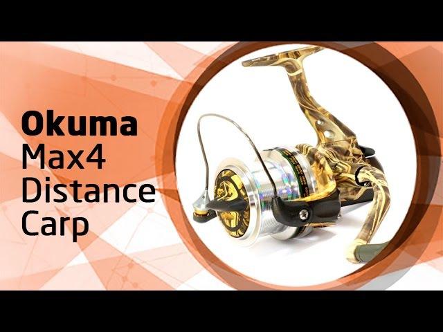 Безынерционная катушка Okuma Max4 Distance Carp