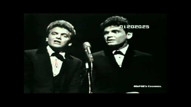Everly Brothers Let It Be Me Very nice quality HD video Live 1964