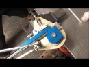 Bending 1 x 16 swg erw stainless steel tube - Useful Tools Mandrel Tube Bender Mk 5