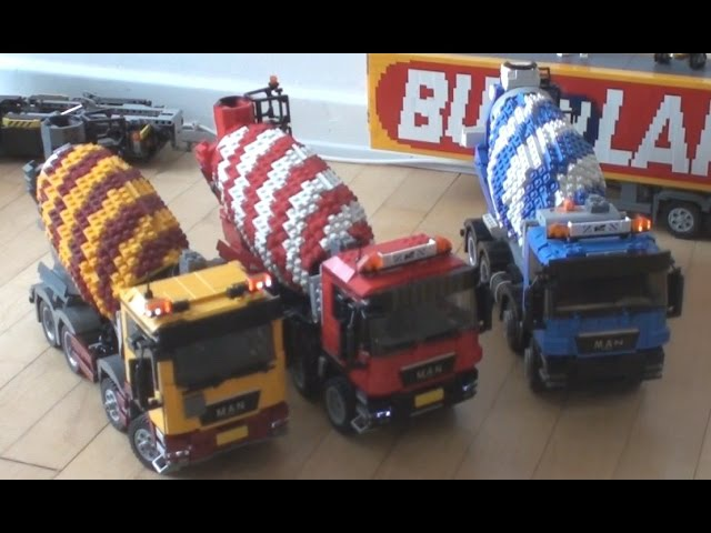 LEGO SBrick Cement Truck