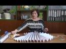 Как сделать жалюзи из обоев Мастер класс от Ангелины Быковой