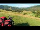 Поход в Карпаты на велосипеде | День 1 (Воловец-Шипот-Келечин-Соймы-Лопушное)