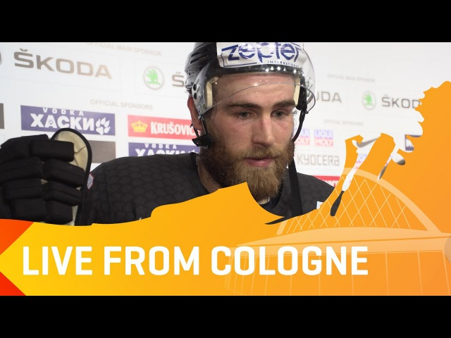 Post-Game: Team Canada's Ryan O'Reilly and Nate MacKinnon after SF win | IIHFWorlds 2017