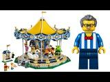 LEGO Creator 10257 Карусель интересная игрушка видео для детей