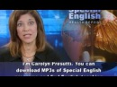 Learn English With VOA learning English VOA special English, Report compilation 10