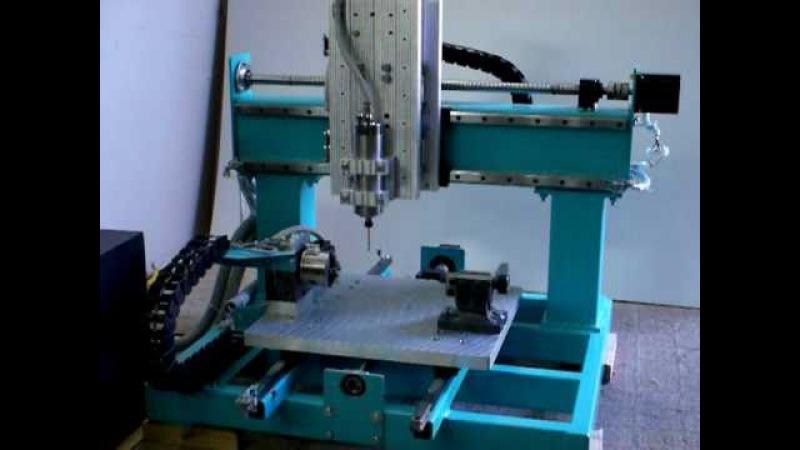 5 axis CNC machining - metall frame