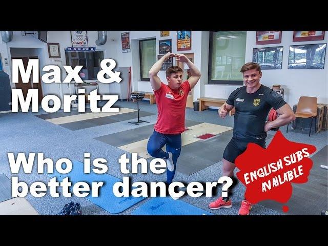 Max und Moritz in der Trainingshalle I Wer ist der bessere Tänzer?