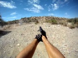 GUNS GoPro HD Shooting first person with the AK47 and SR9 pt 2