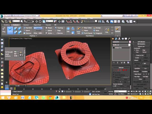 Tutorial Conform in 3Dsmax