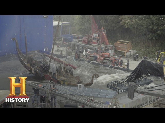 Vikings Behind the Scenes The Scale of the Show Season 4 History