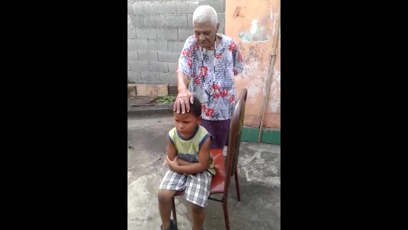 Сеанс очищения и благословения бразильской знахарки