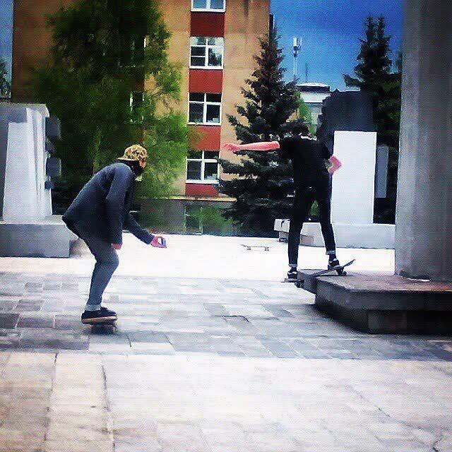 скейтеры, Чайковский, 2017 год