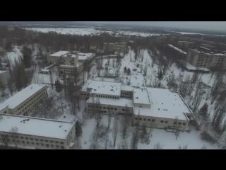 Чернобыль_ Припять полет на дроне 2017