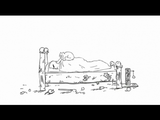Кот Саймона 01 серия Проделки Кота Simon's Cat Episode 1 Cat Man Do