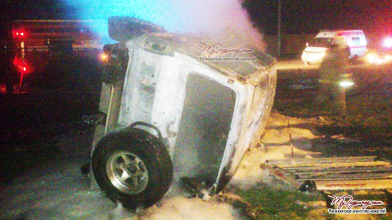 Врезультате происшествия надороге вНеклиновском районе погибли два человека