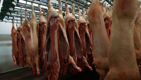В завезенном в Ростовскую область мясе нашли вирус африканской чумы свиней