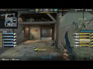 GuardiaN простреливает стену и убивает Olofmeister'a