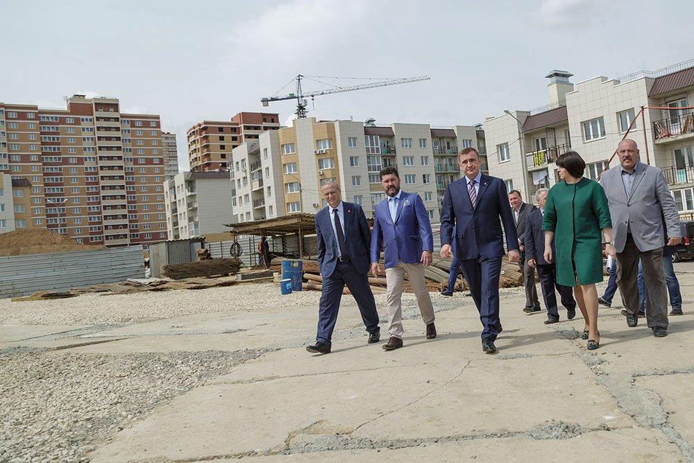 В регионе строится первая школа за последние 10 лет