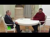 Владимир Путин вручил паспорт Стивену Сигалу [2016]