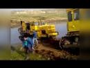 Гусеничный трактор Кировец