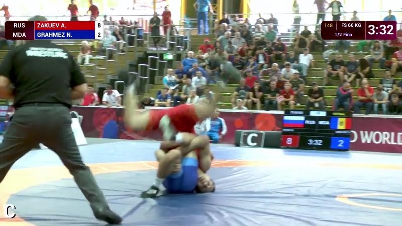 Лучший Бросок Чемпионата Европы по вольной борьбе среди юниоров 2017 RIWUS
