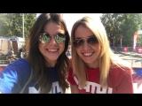 Дарья Левченко и Юлия Маслаченко приглашают всех на тренировку #ВсенаМатч в Краснодаре