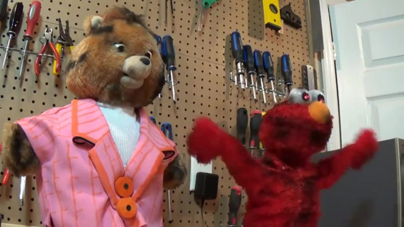 Undead Teddy Ruxpin and ElmoPLAY249