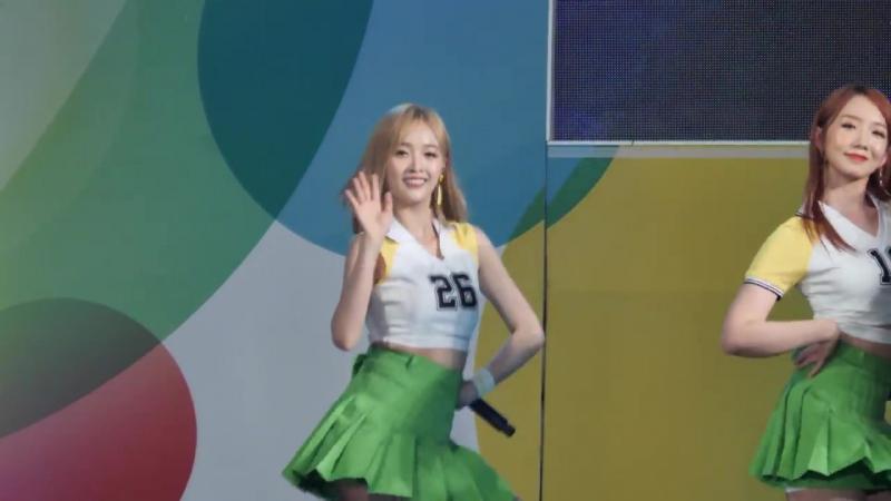 170707 우주소녀 (WJSN) 선의 (Xuan Yi) 너에게 닿기를 (I Wish) 양산시민 힐링 Festival 공연 직캠