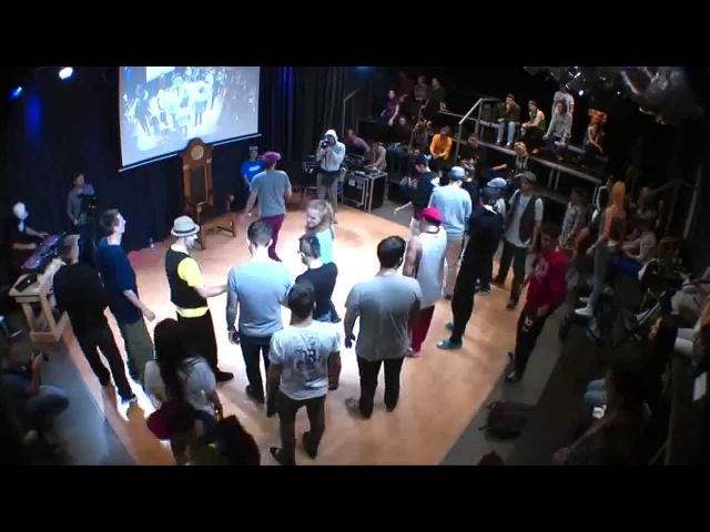 V1 Battle 2014 | Popping Workshop from Sweepy (Rock Steady Crew, Machine Gone Funk)