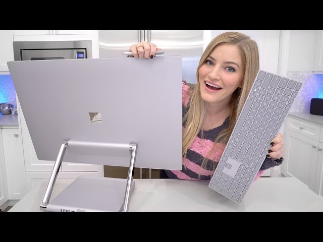 Microsoft Surface Studio Unboxing!