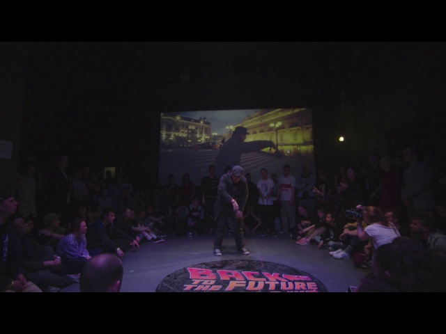 Zlo Popping Back to the future battle 2017