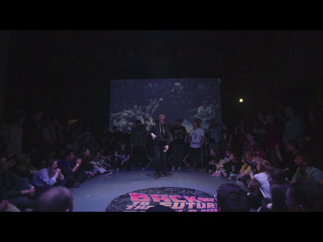 Plasteed popping Back to the future battle 2017