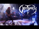 OBITUARY - Internal bleeding Chopped in half - Live Hellfest 2017