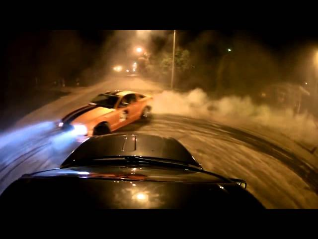 Bmw e30 vs Ford Mustang ProDrift