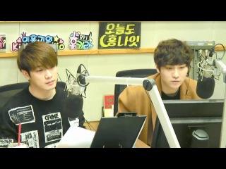 210217 Minhwan Seunghyun - Kiss The Radio @ Кисом и Ким Хоён