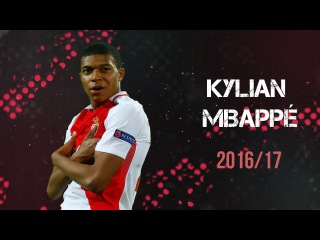 Kylian Mbappe • AS Monaco • All 26 Goals • 2016/17