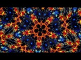 The Splendor of Color Kaleidoscope Video with a variable number of mirrors (6-16 mirrors)- Blue-1