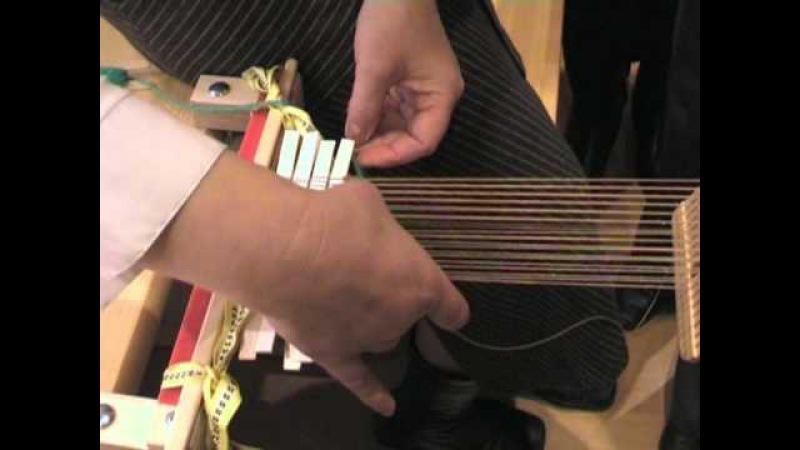 Ткачество пояса на берде Вводный инструктаж
