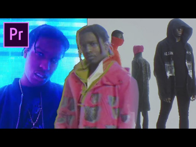 How to make a trippy ASAP ROCKY type MUSIC VIDEO (RAF L$D)