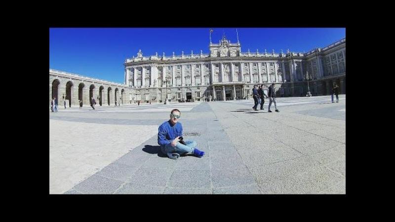 PALACIO REAL DE MADRID скрытая съемка Carlos III majestad y ORNATO